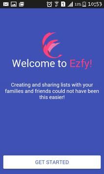 Ezfy poster