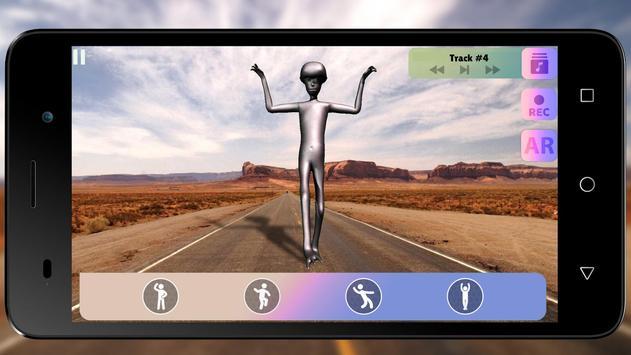 Howard The Alien: Dance Simulator screenshot 2