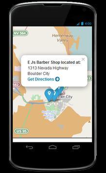 the Barber Shop Locator apk screenshot
