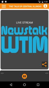 WTIM RADIO poster