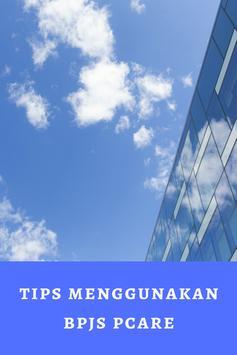 tips menggunakan bpjs pcare poster
