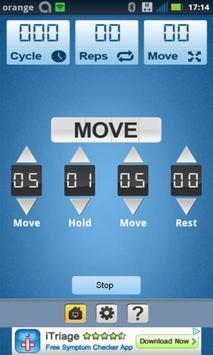 Weight Timer & Trainer Free apk screenshot