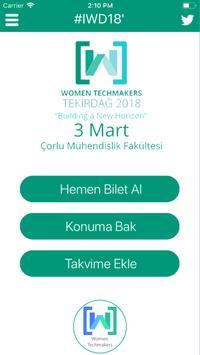 Women Techmakers Tekirdağ 18' screenshot 1