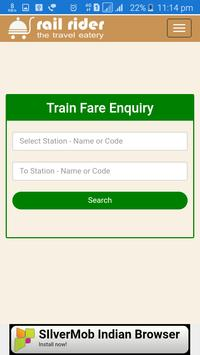 Train Enquiry apk screenshot