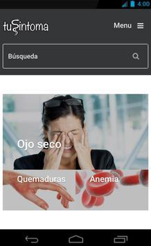 tuSintoma.com poster