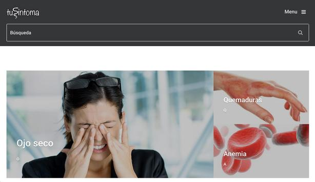 tuSintoma.com apk screenshot