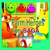 Guide Farm super heroes icon