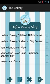 Find Bakery apk screenshot