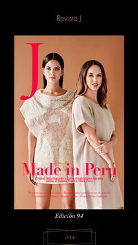 Revista J by Jockey Plaza poster