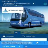 Universaltrip -Flight Hotel Bus Cab  Booking icon