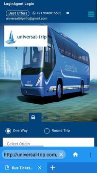 Universaltrip -Flight Hotel Bus Cab  Booking screenshot 2