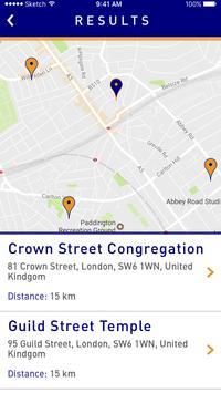 Reform Congregation Finder screenshot 1