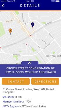 Reform Congregation Finder screenshot 2