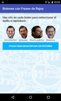 Frases Rajoy Botones Flotantes screenshot 1