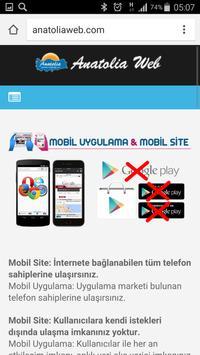Anatolia Internet Web Tasarım screenshot 4