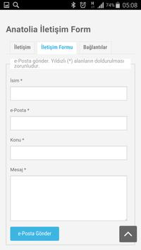 Anatolia Internet Web Tasarım screenshot 7
