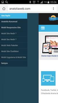 Anatolia Internet Web Tasarım screenshot 1