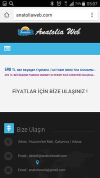 Anatolia Internet Web Tasarım screenshot 3