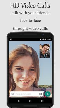 Video-Chat for Whatsap poster