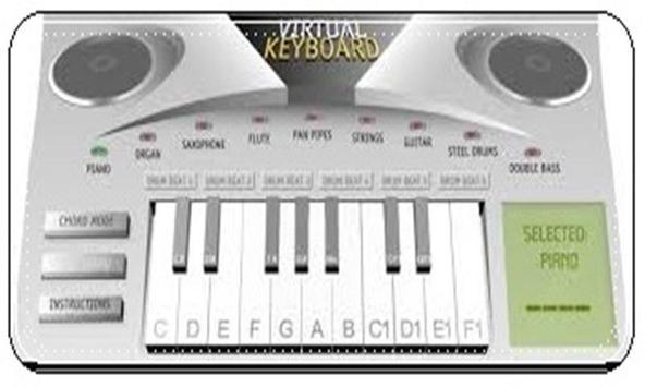 Piano Virtual Keyboard poster