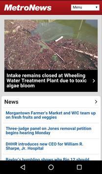 WVMetroNews apk screenshot