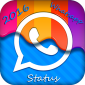 Latest 2016 Whatsapp Status icon