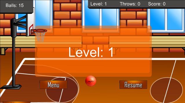 3d Basket Ball Mania apk screenshot