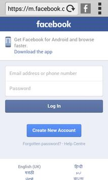 3G H18 BROWSER apk screenshot