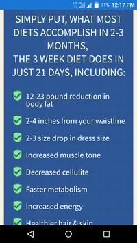 3 Week Diet screenshot 2