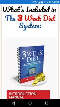 3 Week Diet screenshot 3
