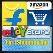 3 in 1 Shopping App icon