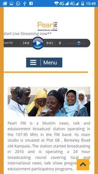 Pearl FM Uganda poster