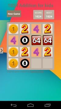 1024 Addition Learning screenshot 1