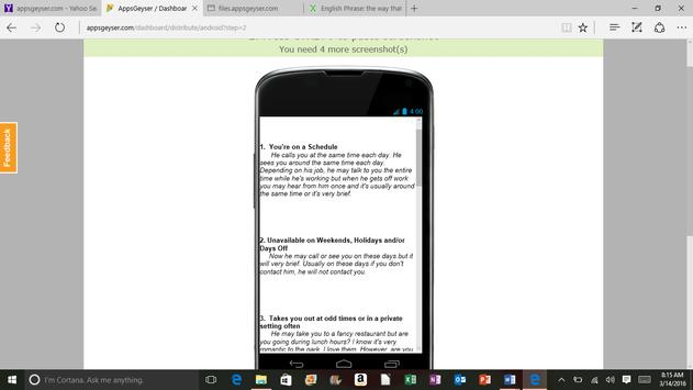 10 Signs of Infidelity for Android - APK Download