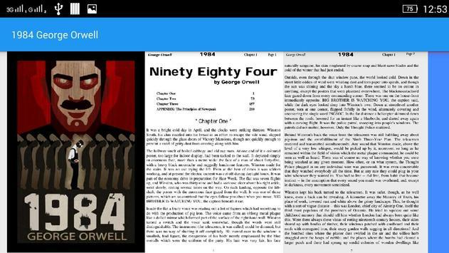1984 George Orwell apk screenshot