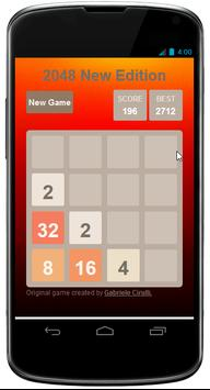 2048 New Edition apk screenshot