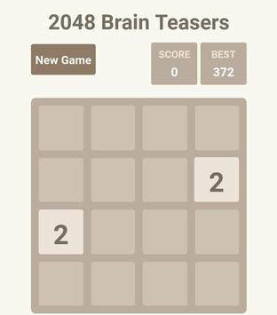2048 Brain Teasers poster
