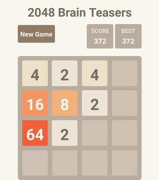 2048 Brain Teasers screenshot 1