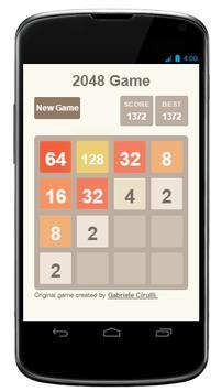 The2048 Game apk screenshot
