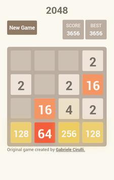 2048 games screenshot 2