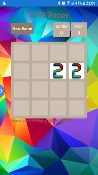 2048 Poppy poster