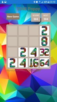 2048 Poppy screenshot 2