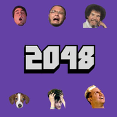 2048 Twitch smileys icon