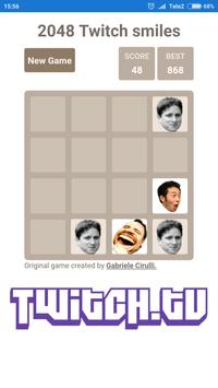 2048 Twitch smileys screenshot 2