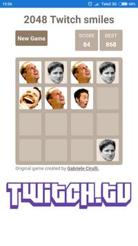 2048 Twitch smileys screenshot 3