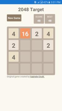 2048 Target apk screenshot