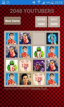 2048 YOUTUBERS apk screenshot