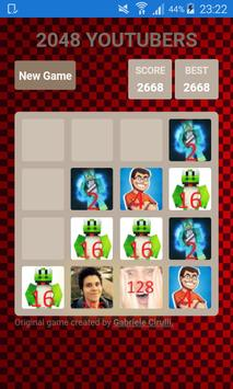2048 YOUTUBERS screenshot 3