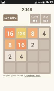 2048 challenge screenshot 4
