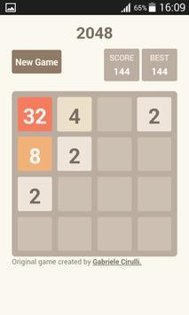 2048 challenge screenshot 1